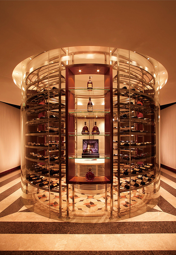 Stainless steel wine cabinets