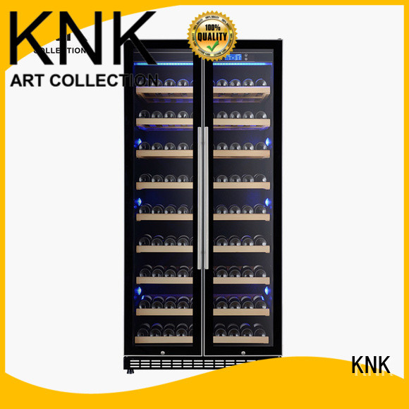 KNK Top wine refrigerator cabinet company for exhibition