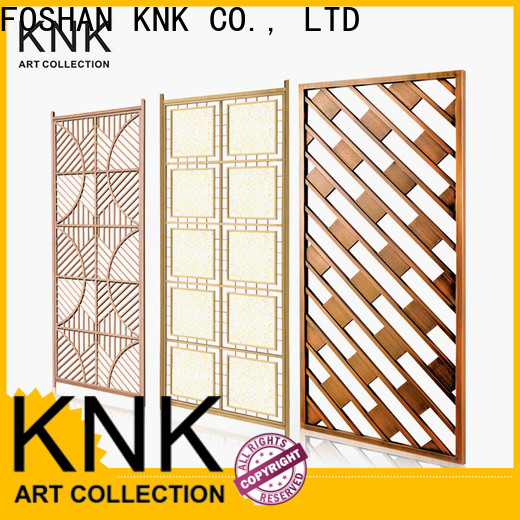 KNK Custom laser cut metal panels Supply for aisle