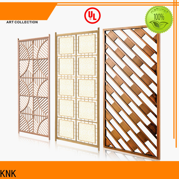 High-quality steel screen panels factory for public space