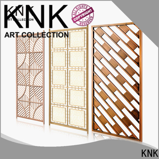 KNK stainless steel screen for business for public space