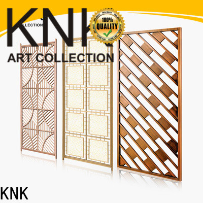 KNK laser cut panels factory for aisle
