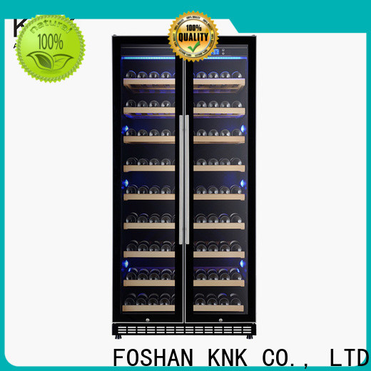 KNK Latest wine refrigerator cabinet factory for home