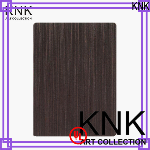 KNK Best stainless steel decorative panels factory for cladding decoration