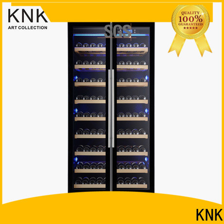 KNK modern wine cabinet factory for exhibition