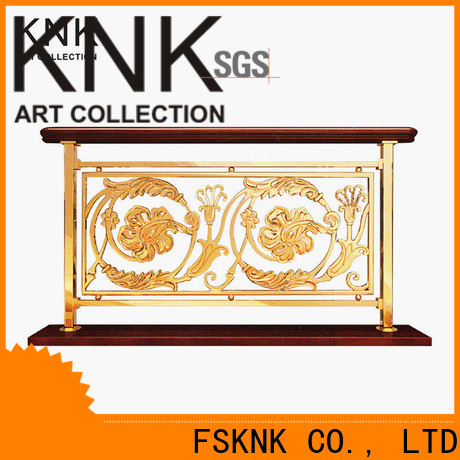 KNK New metal balustrade Supply for outdoor space