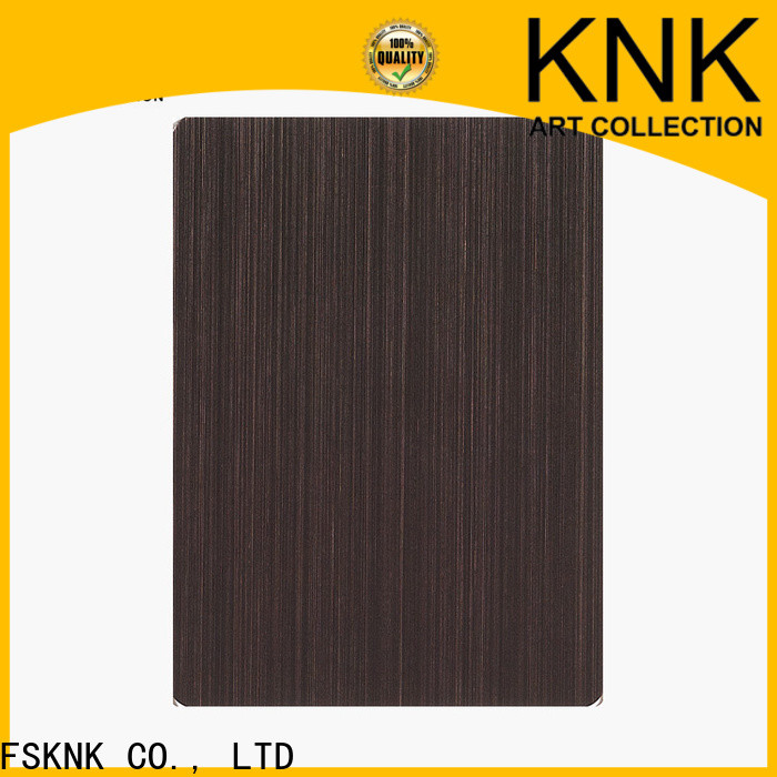 KNK High-quality stainless steel decorative panels Supply for outdoor wall