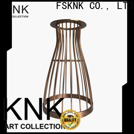 KNK stainless steel artwork factory for outdoor exhibition