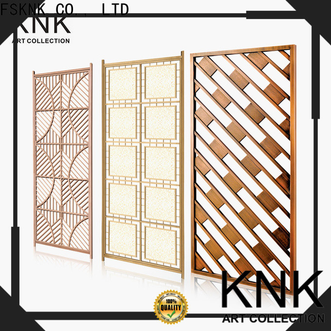KNK Top laser cut panels company for public space