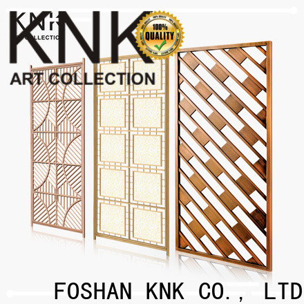 KNK laser cut metal screens for business for aisle