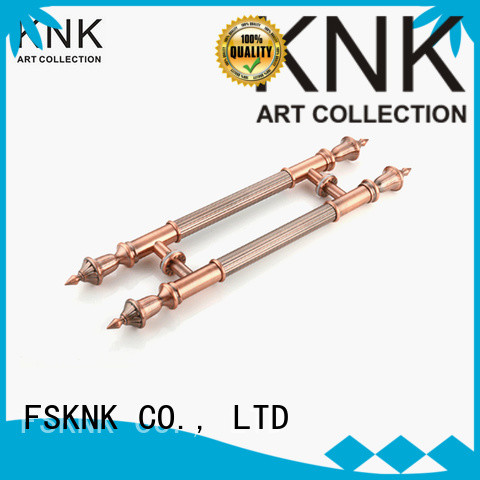 KNK wood door handle company for public