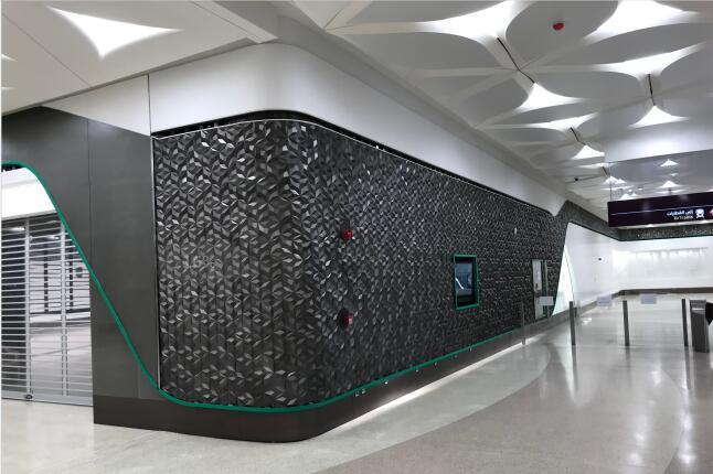 Engineering of Doha Metro Station 2